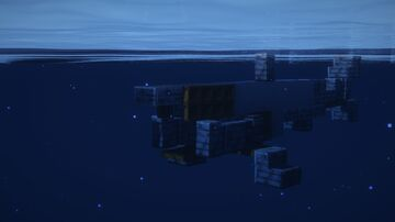 1.5:1 Scale Basking Shark (Cetorhinus maximus) Minecraft Map & Project