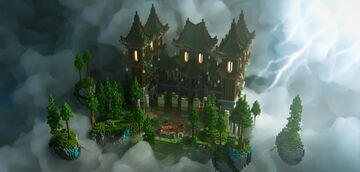 Lobby for MineStar.PL server. Minecraft Map & Project