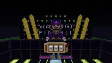 Mariokart DS waluigi pinball Minecraft Map & Project