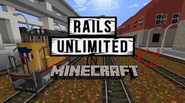 rails unlimited in minecraft V.2 Minecraft Map & Project