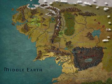 J.R.R. Tolkien - Middle Earth Minecraft Map & Project