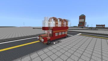 Fallout London Atomic London Bus Minecraft Map & Project
