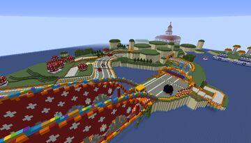 GCN Mushroom Bridge Minecraft Map & Project