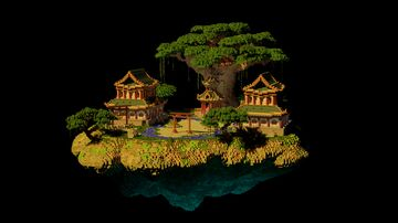 Oriental Building Minecraft Map & Project