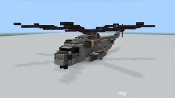 CH-53 Sea Stallion 1.5:1 Minecraft Map & Project