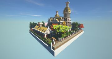 VICTORAIN MANSION / FULLY FINISHED / (COCRICOT) 1.12.2 Minecraft Map & Project