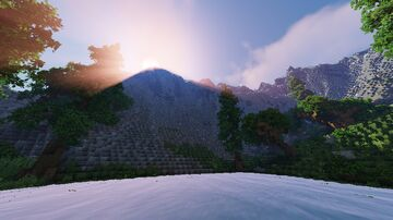 The Deciduous Hills, 640x640 Forest Map Minecraft Map & Project