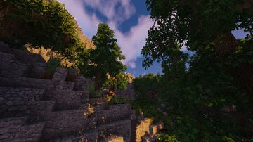 The Deciduous Hills, 640x640 Map Minecraft Map & Project