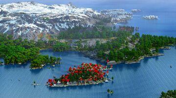 Darxima - Dungeons & Mega Oaks (Download, 4k, 1.17+,Java & Bedrock, Multibiome Minecraft Survival World) Minecraft Map & Project