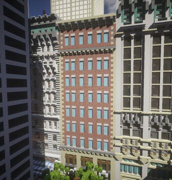 New York historical building 3 Minecraft Map & Project