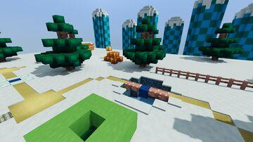 World 5 (New Super Mario Bros.) Minecraft Map & Project