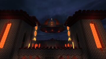 The Devil's Castle Minecraft Map & Project