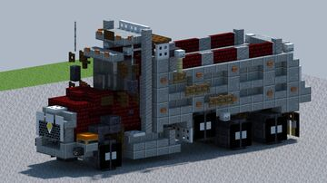 Cat CT660 Dump truck [With Download] Minecraft Map & Project