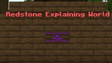 FA_pew's Redstone Explaining World Minecraft Map & Project