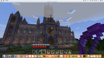 Holy Minster of the Sanctified Heart of the Incarnate Christ Minecraft Map & Project