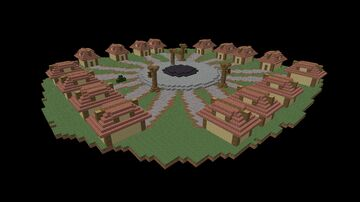 Town of Salem Village Minecraft Map & Project