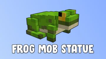 Frog Mob Statue Minecraft Map & Project