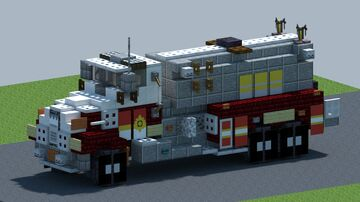Freightliner M112 Fire Tanker [With Download] Minecraft Map & Project