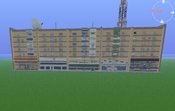 COMERCIAL RESIDENCE SOVIET APARTMENT by Anderbest Minecraft Map & Project
