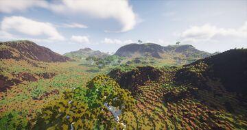 Savannah Minecraft Map & Project