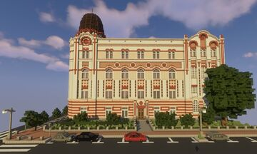 Old Telephone Exchange Building in Belgrade / Стара зграда телефонске централе у Београду Minecraft Map & Project