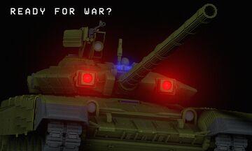 T-90A Soviet Main Battle Tank Minecraft Map & Project