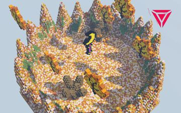 Autumn Stick ❯ Arena map Minecraft Map & Project