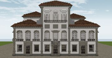 The Paço Imperial / Imperial Palace (Cocricot) Minecraft Map & Project