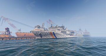 Research vessel Coast guard class KS-7500 Minecraft Map & Project