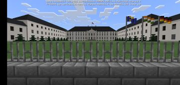 Schloss Bellevue, Germany (Palacio de Bellevue, Alemania) Minecraft Map & Project
