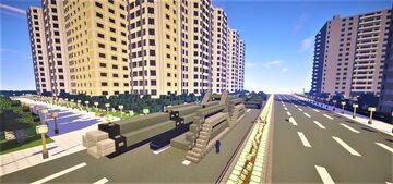 Heavy tank Minecraft Map & Project