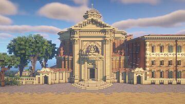 Sant'Andrea al Quirinale Minecraft Map & Project