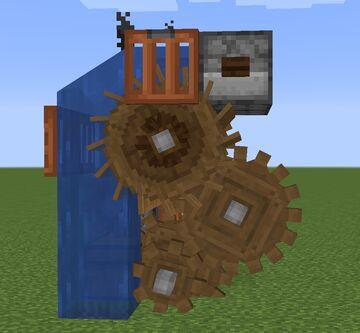 Create - Simple Cobblestone Generator [modded] Minecraft Map & Project