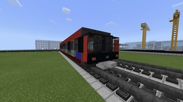Docklands Light Railway B07 Tram, London Minecraft Map & Project