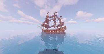 The Black Pearl ship of 2021 Minecraft Map & Project