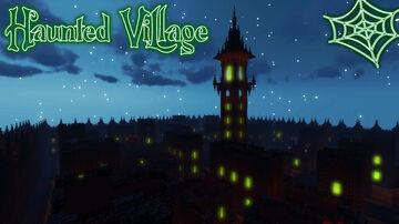 Haunted Village Halloween Minecraft Map & Project