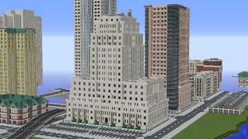 National Bank Building + Timelapse Minecraft Map & Project