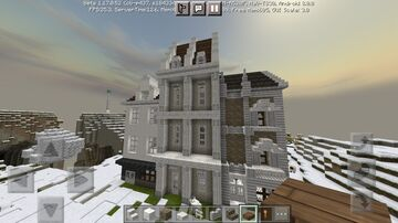 City In the Mountain Minecraft Map & Project