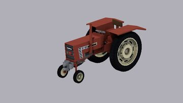 Fiat Tractor Minecraft Map & Project