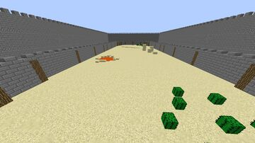 PvP arena--1.8--2 Players Minecraft Map & Project