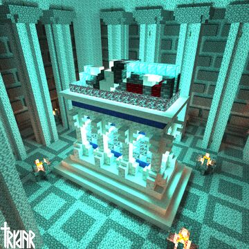 Tomb of Alexander the Great +Tutorial Minecraft Map & Project
