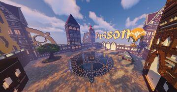 Steampunk Prison Spawn Minecraft Map & Project