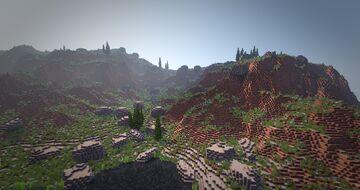 Mesa Island Minecraft Map & Project