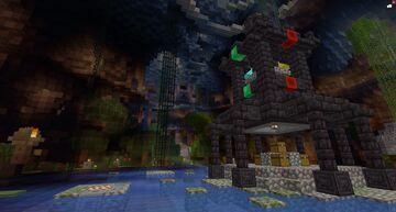 Cavern Minecraft PVP Map [1.16.5] Minecraft Map & Project