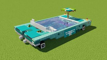 Swimming Pool Car Minecraft Map & Project