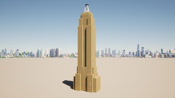 Empire State Building Minecraft Map & Project