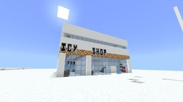 Icy Shop Minecraft Map & Project