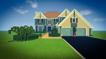 Gracewood- A Luxury Home Minecraft Map & Project