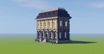 Baroque House Minecraft Map & Project