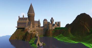 Hogwarts Castle (Console Version) (1.14.4) Minecraft Map & Project